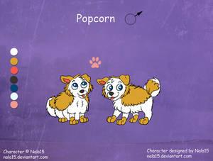 Popcorn - Ref Sheet (Fuzzles)