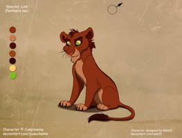 Amira X Rehema - cub for Cusackanne by Nala15