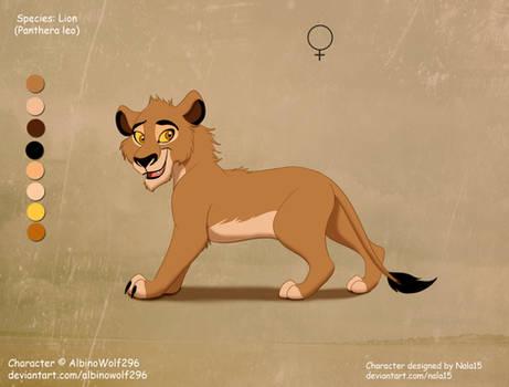 Laini X Rehema - cub for AlbinoWolf296 by Nala15