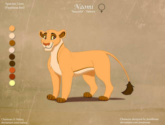 Naomi - OC by Nala15