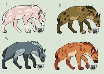 Elemental Hyenas - 1/4 OPEN by Nala15