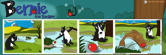 Bernie the Badger #11 - Go Fish