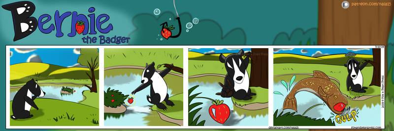 Bernie the Badger #11 - Go Fish by Nala15