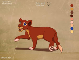 Manzi - OC by Nala15