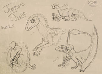 Kooky Characters - Jurassic June Days 2 - 5
