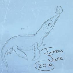 Follow the Bouncing Ball - Jurassic June Day 11