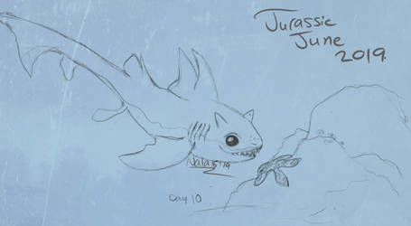 Baby Shark - Jurassic June Day 10