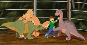 Land Before Time JW Crossover - Commission