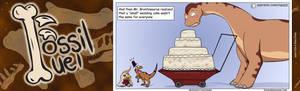 Fossil Fuel #9 - My Big Fat Sauropod Wedding Cake