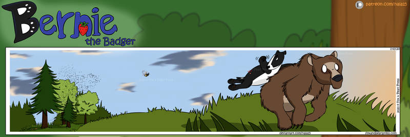 Bernie the Badger #16 - Bears and the Bees Part 3
