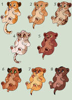 Baby Blep Cub Adopts [2/8 OPEN]