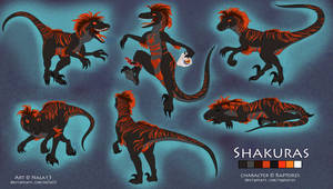 Shakuras - Complex Ref Sheet - Commission