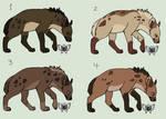 Crackship Hyenas - 1/4 OPEN