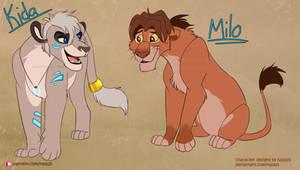 Adoption Auction CLOSED - ''Kida and Milo''