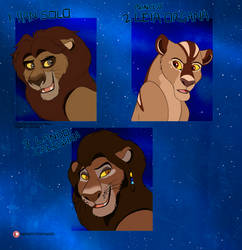 Adoption Auction [CLOSED] - Star Wars Lions by Nala15