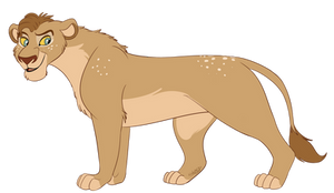 Adoption Auction (closed) - Bambi Lioness