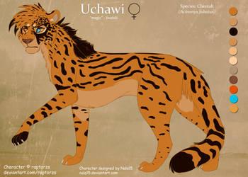 Uchawi the Chimera Cheetah - Ref by Nala15