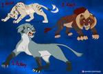Adoption Auction CLOSED - Villain Lions VI