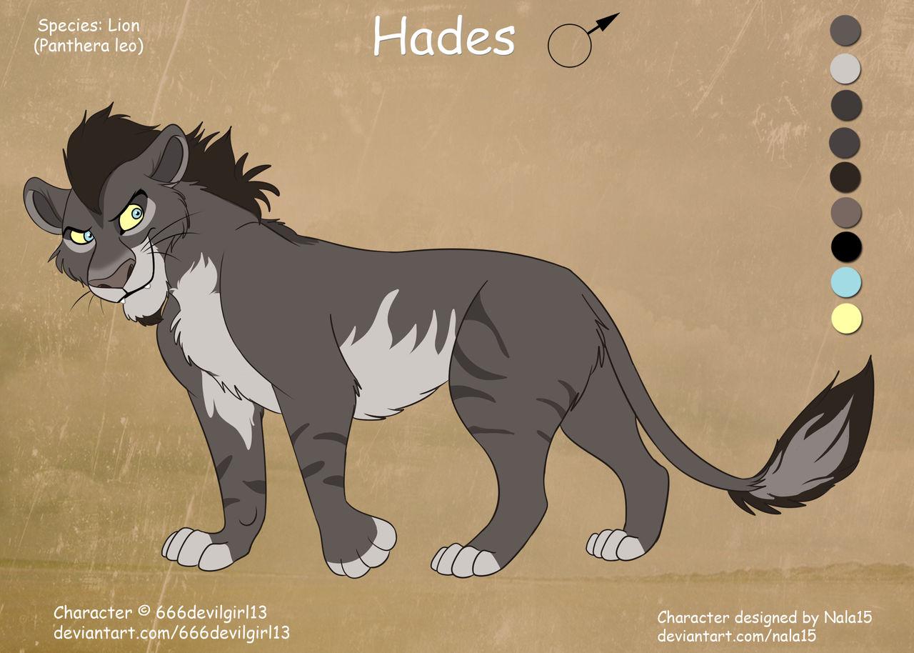 ''Hades'' - Fullbody Ref