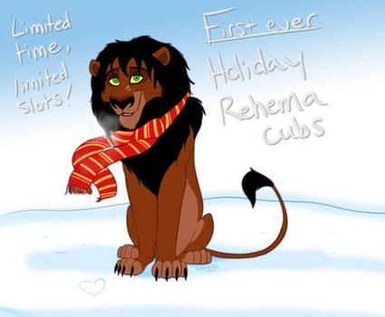 Rehema Christmas Cubs - CLOSED