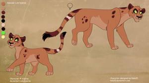 Ny'asia X Rehema - cub for Azerae