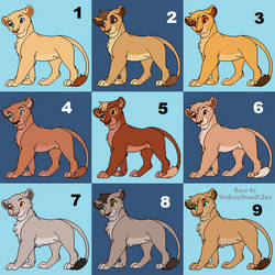 Baby Blues - Lion Cub Adopts 9/9 OPEN