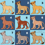 Baby Blues - Lion Cub Adopts 2/9 OPEN