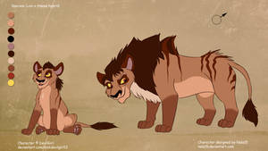 Jasper X Rehema - cub for DevilGirl