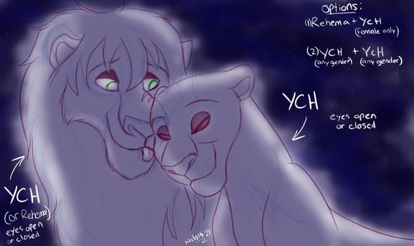 YCH Moonlight Kisses - pending