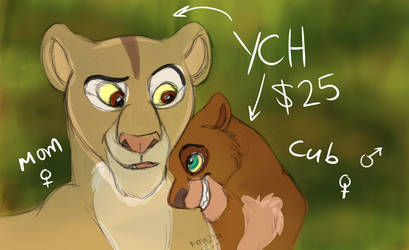 YCH OPEN - What Are You Up To? 3/3