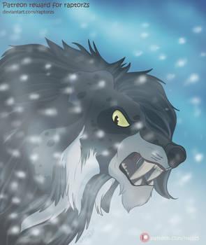 Snow Beast - Patreon Reward [Raptorzs]