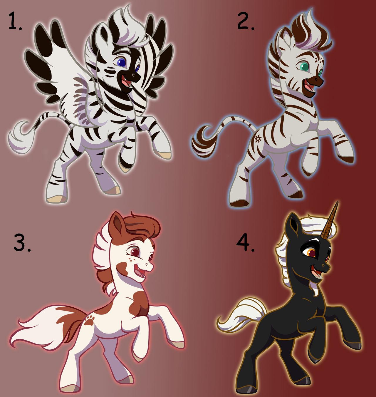 Pony Adopts - 2/4 OPEN