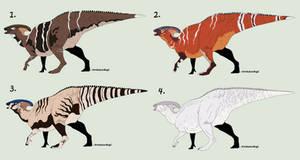 OPEN 4/4 - Dino Adopts - Parasaurs!