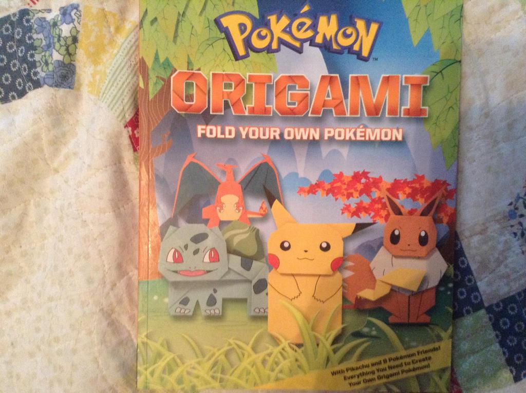 Pokémon Origami Book   Book origami, Cute origami, Origami crafts   765x1024