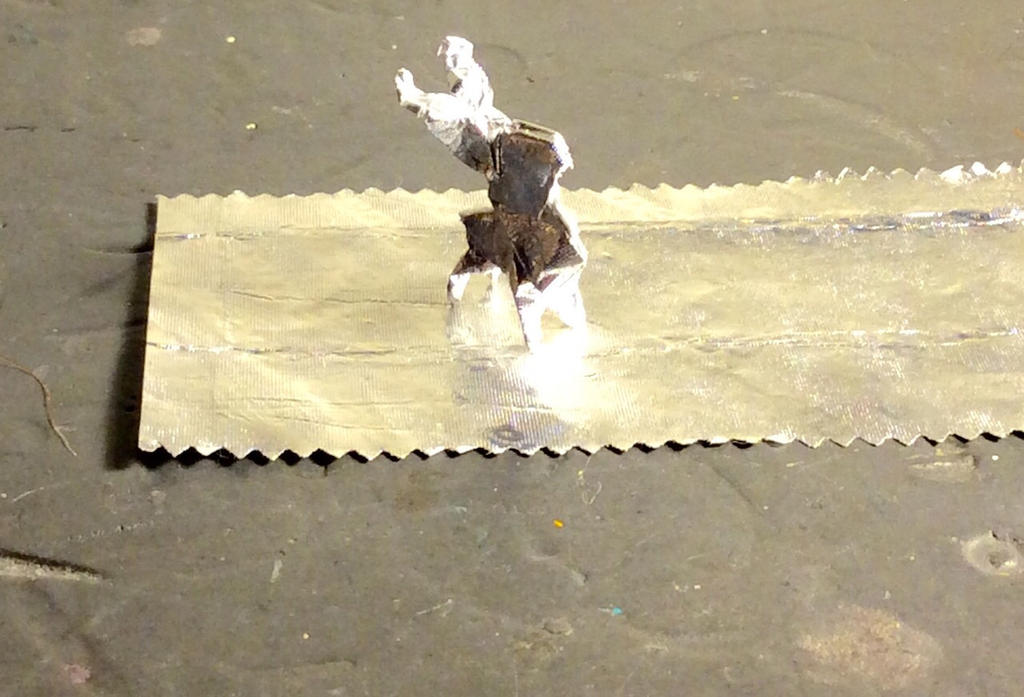 origami gum wrapper deer by cmwacker99 on deviantart