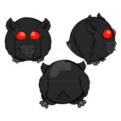 Mothman Squishable by PrinceClueless