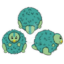 Yutyrannus Squishable by PrinceClueless