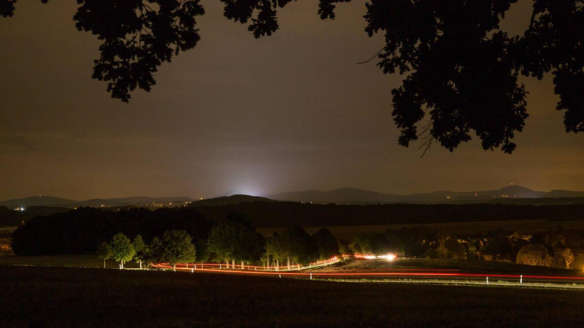 Lighttrails by BSOD90