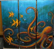 Octopus's garden by JACKIEthePIRATE