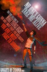 Knights of Cydonia poster