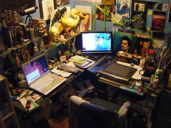 my studio by JACKIEthePIRATE