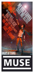 MUSE Knights of Cydonia poster by JACKIEthePIRATE