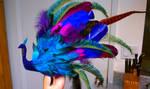 Peacock Headdress by JACKIEthePIRATE
