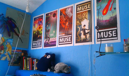 My muse posters by JACKIEthePIRATE