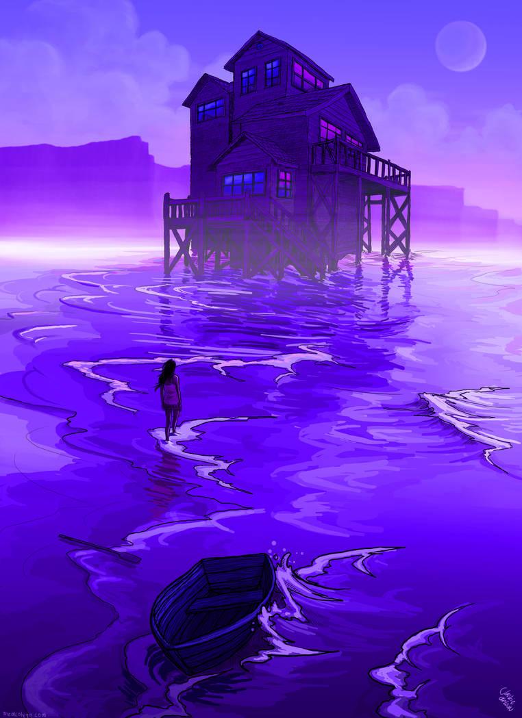 Violet Dreams by JACKIEthePIRATE