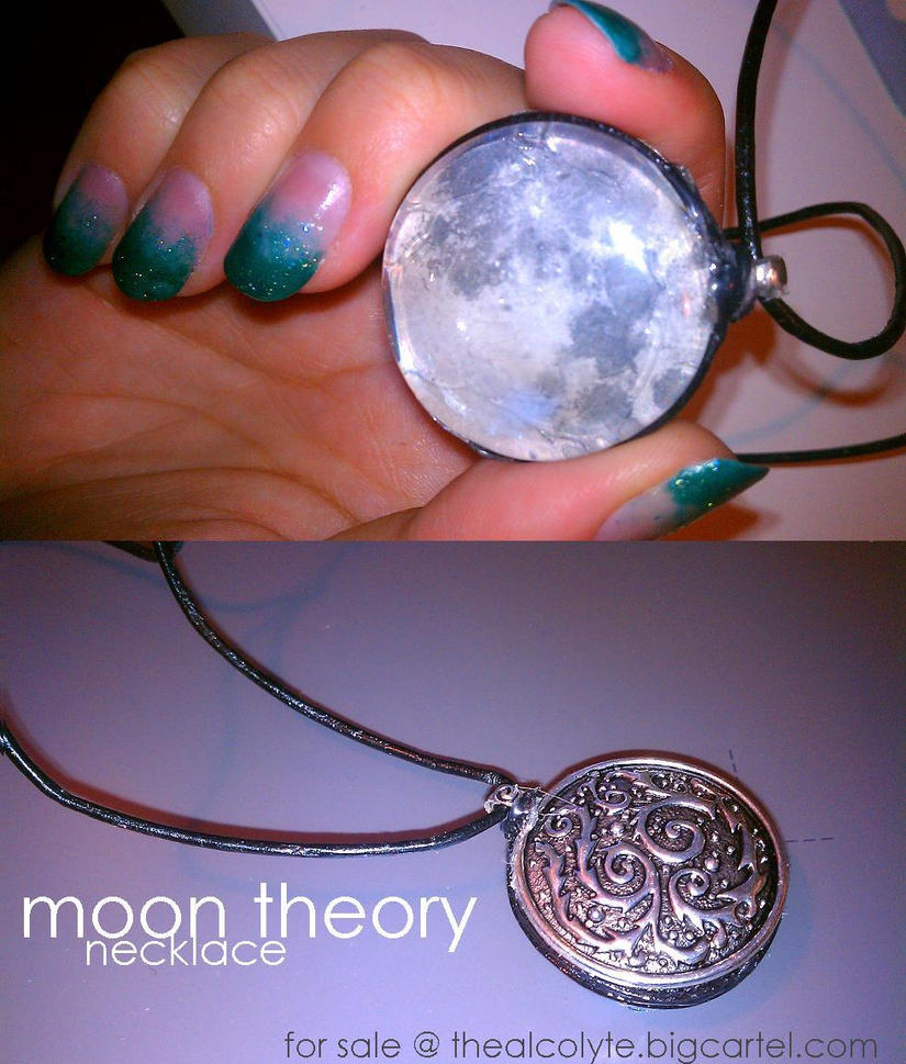 moon theory necklace by JACKIEthePIRATE
