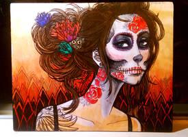 Dia de Los Muertos by JACKIEthePIRATE