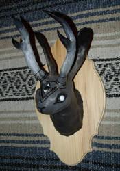 Jackalope Head