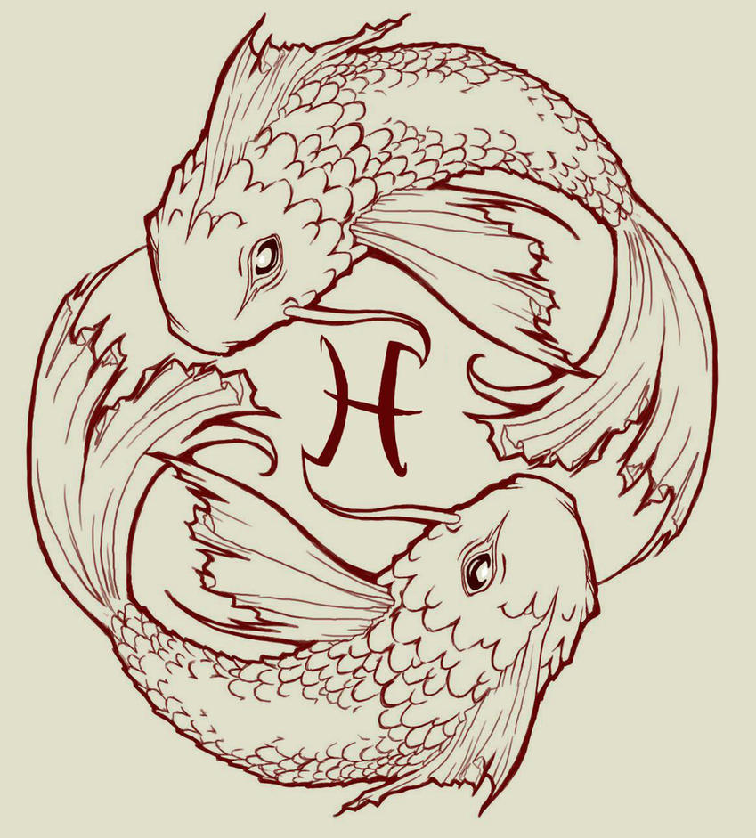 Pisces koi fish by jackiethepirate on deviantart for Koi fish net
