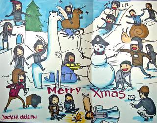 christmas card 06 by JACKIEthePIRATE